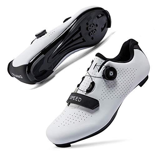 JIASUQI Delta Cleat Cycling Shoes Womens Mens Indoor Outdoor Cycling Class...