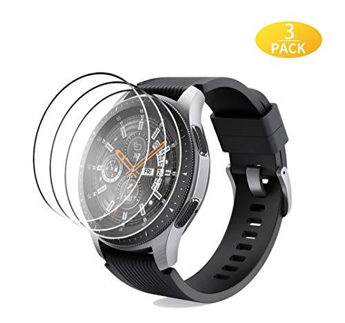 EAWEN [3 Stück Panzerglas Schutzfolie für Samsung Galaxy Watch 46 mm, High-Definition Displayschutzfolie Kompatibel mit Galaxy Watch 46mm / Gear S3 Schutzfolie