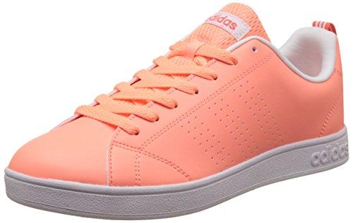 adidas adidas Damen Vs Advantage Clean Tennisschuhe, Orange (Sunglo/sunglo/eascor), 37 1/3 EU