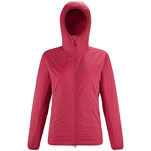 Millet – Chaqueta térmica K Belay Hoodie W Tango para mujer, color rojo, rojo, extra-large