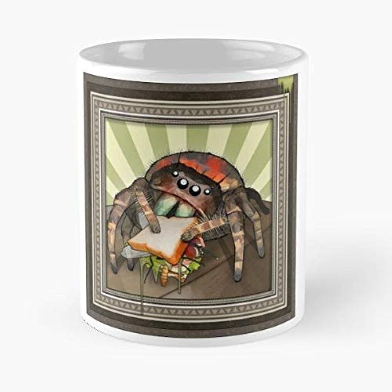 Spider Spiders Jumping Jumper - Handmade Funny 11oz Mug Best Holidays Gifts For Men Women Friends.
