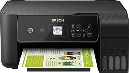 Epson ecotank et-2720 inyección de tinta 33 ppm 5760 x 1440 dpi a4 wifi - impresora multifunción (inyección de tinta, impresión a color, 5760 x 1440 dpi, a4, impresión directa, negro).