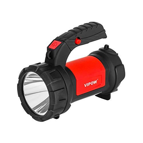 VIPOW Leuchtturm Taschenlampe Police Bucket COB 3+ 3W LED USB Clear Light USB Kabel IP20 Eingebaute Akku: 2000mAh