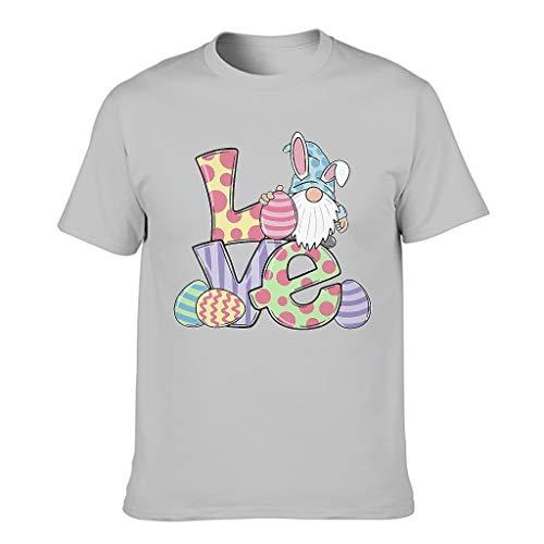 3D Druckten Herren T-Shirts3D MusterTee O-Neck Rundhals T-Shirt BeiläufigeT-Stücke Silver Gray 2XL