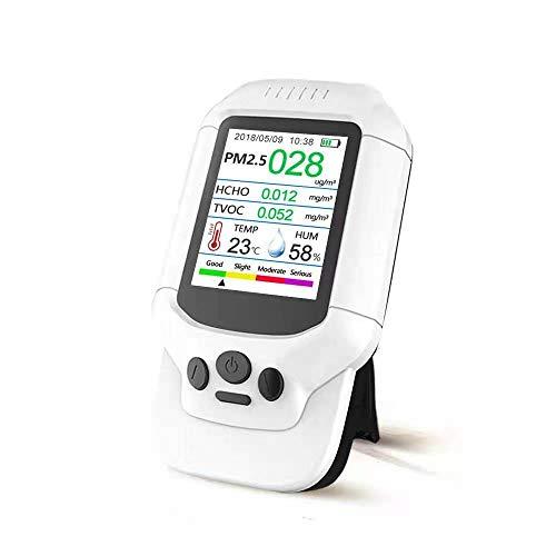 HUANGCHAO Portable Ozon Meter Multi-Functional Monitor Gas Analysator Ozonkonzentrationsdetektor Tvoc Pm2.5 Analyzer Sensor