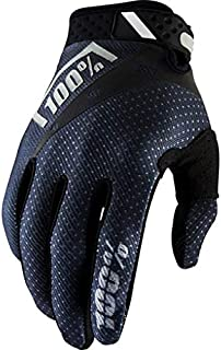 "100% Unisex-Adult Speedlab (10001-057-11)"" RIDEFIT Glove Black-Medium"