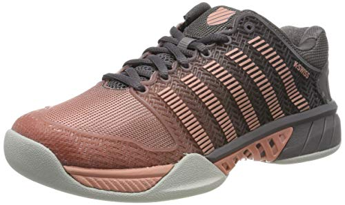 K-Swiss Performance Damen Hypercourt Express Carpet Tennisschuhe, Pink (Plum Kitten/Coral ALM/Gull Gr 094-M), 38 EU