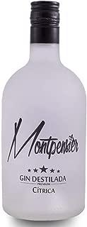 Montpensier Gin Premium Cítrica - 70cl - Realizada con Alcohol de Grano - 5 Destilaciones - 10 Botánicos