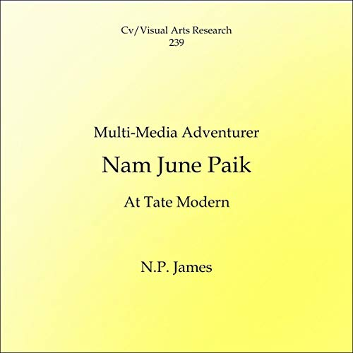 Multi-Media Adventurer: Nam June Paik at Tate Modern audiobook cover art