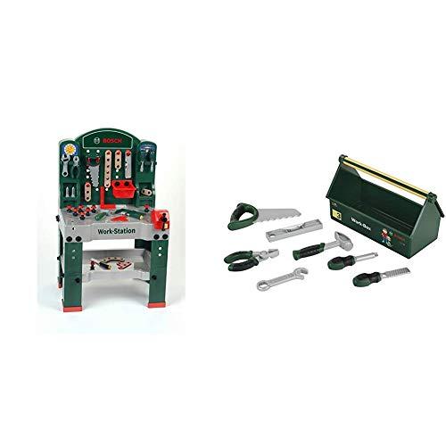 Bosch Werkbank Bundle: Theo Klein 8580 - Bosch Werkbank und Theo Klein 8573 - Bosch Werkzeugbox