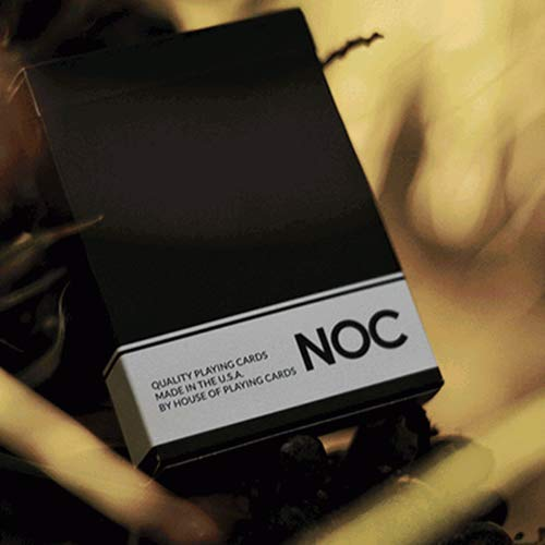 SOLOMAGIA Mazzo di Carte NOC Original Deck (Black) Printed at USPCC by The Blue Crown