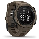 Garmin Instinct Tactical – sehr robuste Outdoor-Smartwatch mit taktischen Funktionen,...