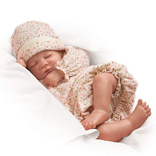 Waltraud Hanl Hush, Little Baby Collectable Lifelike Baby Girl Doll: So Truly Real by Ashton Drake