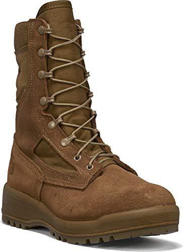 B Belleville Arm Your Feet Men's 590 USMC Hot Weather Combat Boot (EGA), Mojave - 13 R