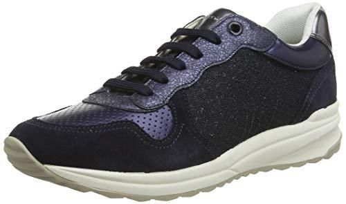 Geox D AIRELL A, Zapatillas para Mujer, Azul (Navy C4002), 41 EU