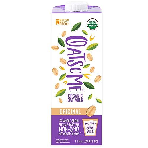 Oatsome Organic Oat Milk, 6 Count 1-Liter Cartons
