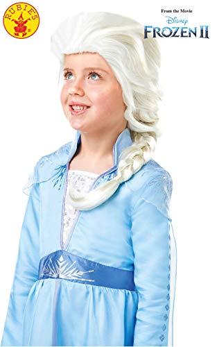 Die Eiskönigin Perücke ELSA, Mehrfarbig, (Rubie's 300471)