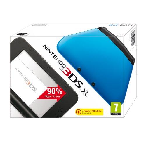 Nintendo 3DS - Consola XL - Color Azul y Negro [Importación inglesa]