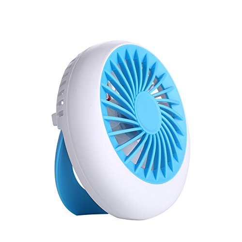 RTRY Mini Usb Ventilatore Ventola Mute Portatile Ricaricabile Ventola Mini 12,5*12.5Cm