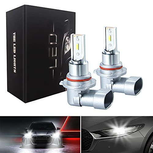 9006 HB4 Fog Light Bulbs LED Ultra Extremely Bright 6000K White Xenon Fog Spot Light Bulbs Lamps 300% Brightness (Pack of 2)