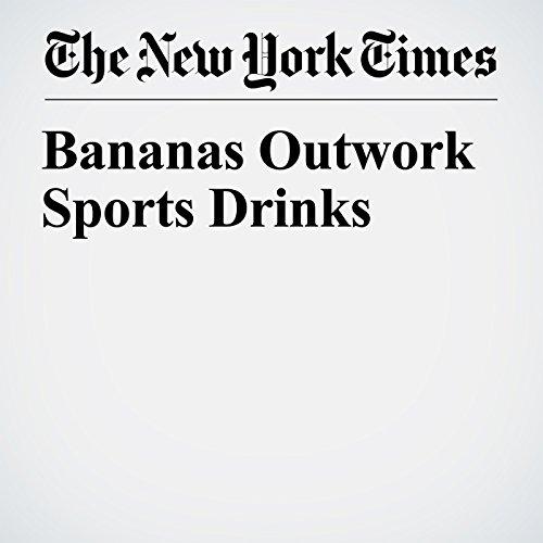 Bananas Outwork Sports Drinks copertina