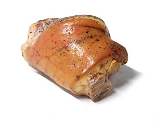 Stinco di maiale affumicato Gustos, 1,2 kg, da carne di maiale selezionata, affumicata, speziata e precotta