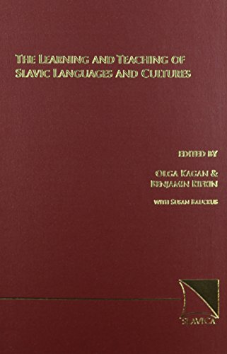 Compare Textbook Prices for The Learning and Teaching of Slavic Languages and Cultures First Edition Edition ISBN 9780893572921 by Olga Kagan,Olga Kagan,Benjamin Rifkin