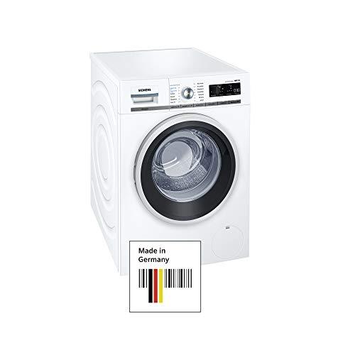 Siemens iQ700 WM14W740 Waschmaschine / 8,00 kg / A+++ / 137 kWh / 1.400 U/min / sensoFresh Programm / Nachlegefunktion / Hygiene Programm / Trommel reinigen-Programm