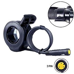 Electric Bikes Bafang Thumb Throttle Mid Drive Motor E-bike Conversion Kits 36V 48V 52V 250W 500W 750W 1000W Waterproof 3PIN Female…
