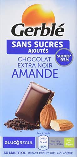 Gerblé Chocolat Noir Amandes 80 g