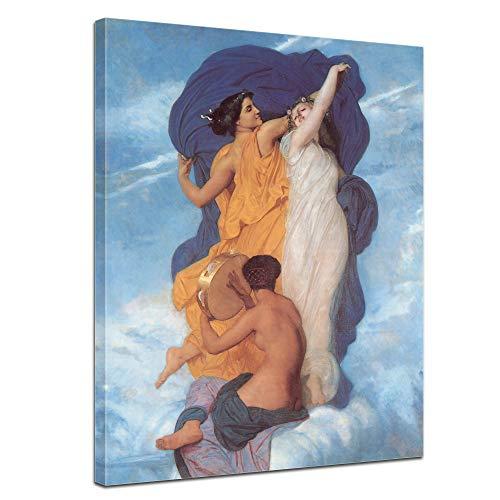 Bilderdepot24 Leinwandbild William-Adolphe Bouguereau Der Tanz - 50x60cm hochkant - französischer Maler Kunstgeschichte Leinwandkunst