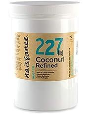 Naissance Refined Coconut (Solid) Oil (#227) 500g - Puur, Natuurlijk, Wreedheidvrij, Veganistisch - Hydraterend & Hydraterend - Ideaal voor aromatherapie, huidverzorging, haarverzorging en diy beautyrecepten