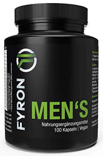 FYRON MENs + Vegan + 100 Kapseln + Top Produkt