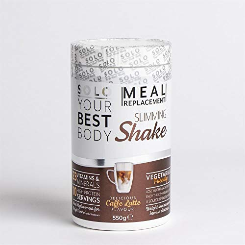 BAZONA - Solo Meal Replacement Slimming Shake 550g (Caffe Latte)