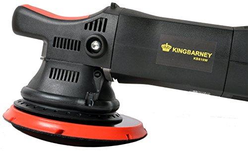 Kingbarney Exzenter Poliermaschine 810 Watt Polierer orbitale Rotation