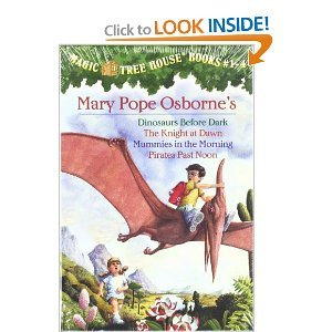 Paperback The Magic Tree House Collection #1: (Includes Dinosaurs Before Dark, Knight at Dawn, Mummies in the Morning, Pirates Past Noon) (A Stepping Stone Book(TM)) Book