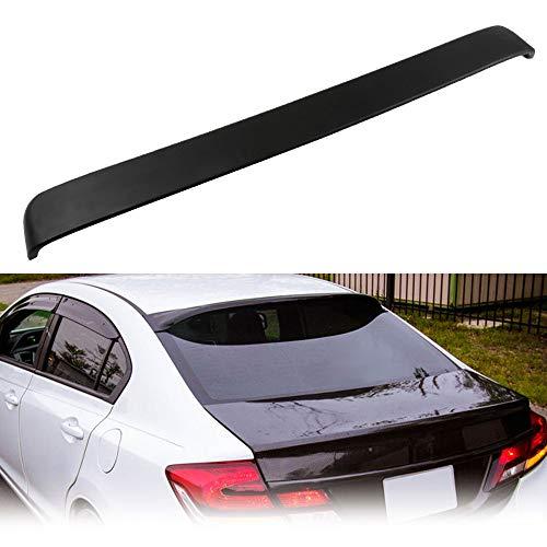 ECCPP ABS Spoiler Wing Unpainted Rear Window Roof Spoiler Wing Replacement fit for Honda Civic 4-Door 1.3L Hybrid Sedan