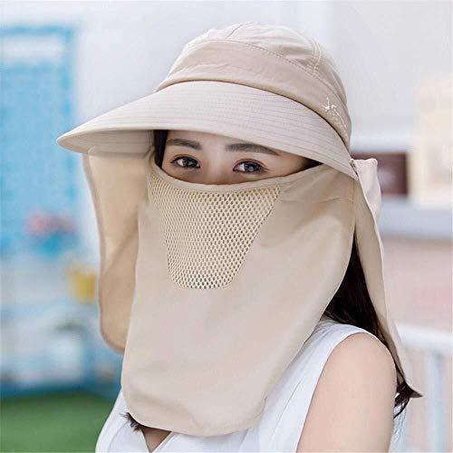 MGE Zonnehoeden Elegante Dame Zon Outdoor Hoed Zomer Outdoor Fietsen Visor UV Bescherming Zonnehoed