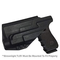 Kydex IWB Gun Holster SPRINGFIELD ARMORY XDM 3.8C COMPACT 9MM//40CAL//45CAL