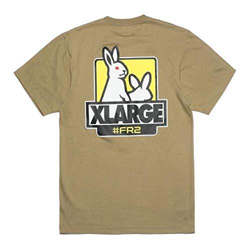 FR2 XLARGE Tシャツ ベージュ Lサイズ