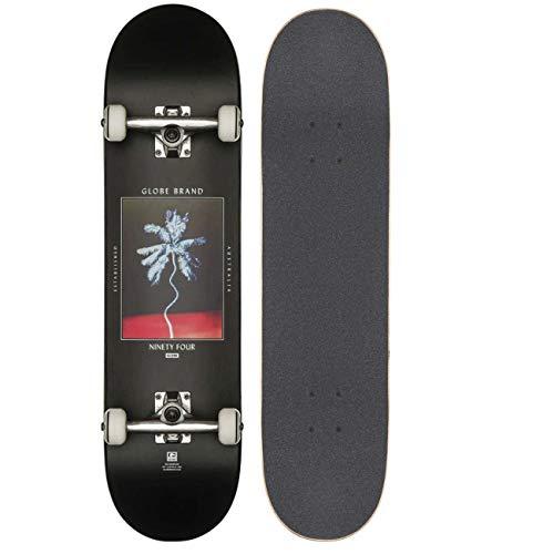 Globe G1 Palm Off Skateboard, Black, 8
