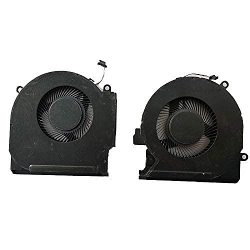 Ventilador de CPU Nuevo ventilador de refrigeración de CPU + GPU para HP OMEN 15-EK 15-EK0023DX 15-EK0020CA 15-EK0019NR 15-EK0018CA 15-EK0013DX 15-EK0008CA 15-EK0010CA 15-EK0026NR 15T-EK000 P