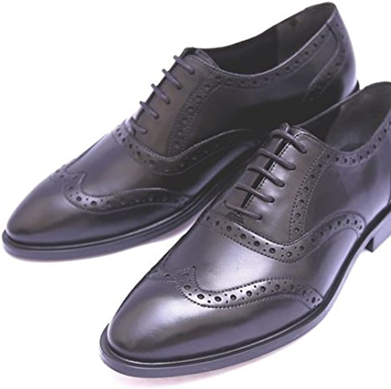 EIGHTYEIGHTSTEPS Hand Made Leather shoes in Calf Leather Oxford Style Black color Art NO. 004-2