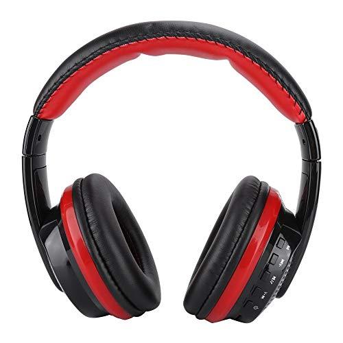 DPYF Auriculares, MX666 Computadora de Escritorio Oficina Auriculares Auriculares Negro + Rojo para iPhones
