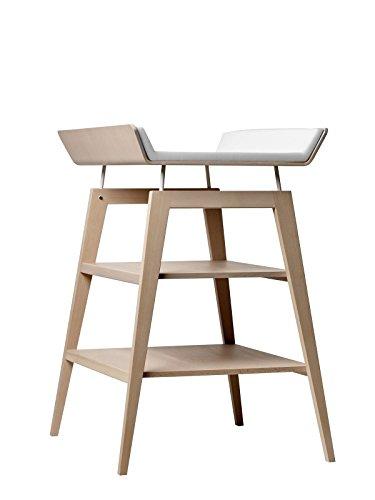 Table à langer Linea avec matelas en hêtre Naturelle