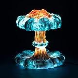 GFL 3D Print Nuclear Explosion Mushroom Lamp Light with Remote Control, Rechargeable Dynamic Mushroom Cloud Night Light, Atomic Bomb Model