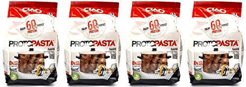 Ciao Carb Protopasta Proteinnudeln 60% Protein in Beuteln 4pak Fusilli