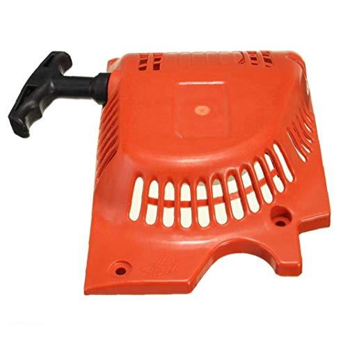 Zonster Retroceso Comienzo del Tirón De Arranque Rojo para 4500 5200 5800 45cc 52cc 58cc China De La Motosierra Tarus Timbertech Kiam Sherwood Sanli