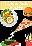Carnet de recettes de cuisine: cuisine : Carnet de cuisine | livre de cuisine à compléter | 90 pages vierges | Noter vos recettes et créations de ... Cadeau pour Boulanger, Pâtissier, Cuisinier.
