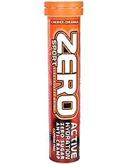 HIGH5 Zero Cherry-Orange, 20 stuks verpakking voor 15 l suikervrije isotherapie, isonische drank met belangrijke mineralen, smaak kersen en sinaasappel, tegen krampen voorkomen